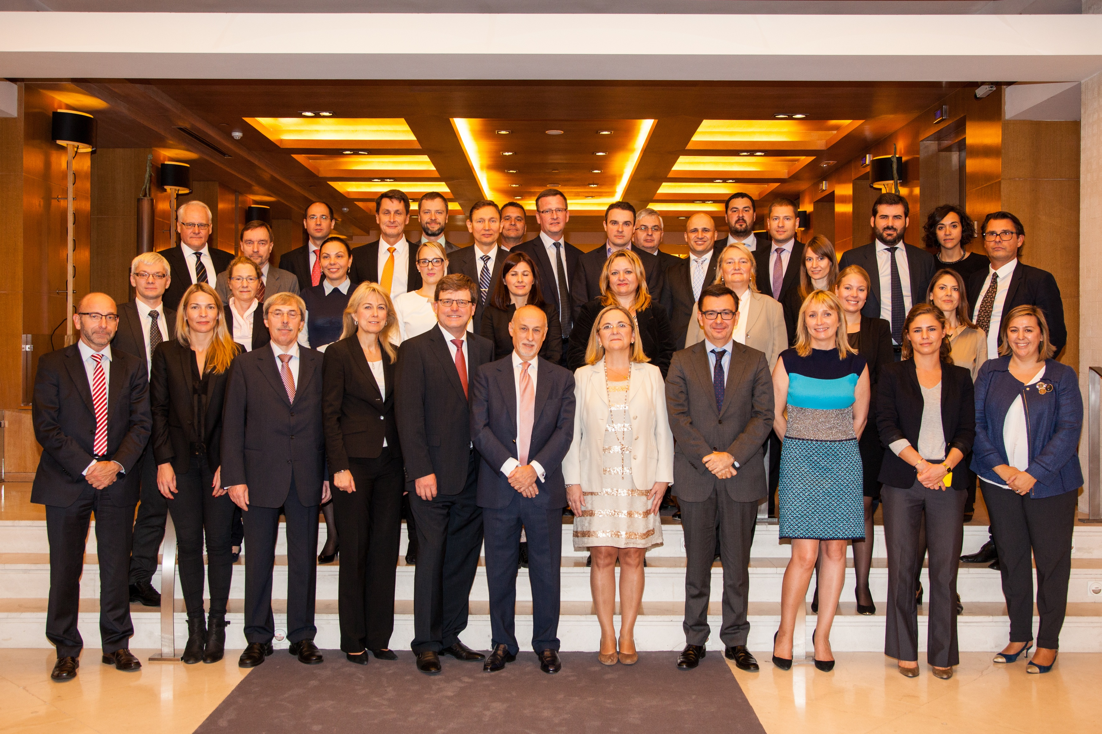 ico has hosted in madrid the biannual high level meeting of senior of nefi member